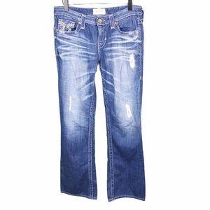 Big Star Liv Boot Distressed Bootcut Denim Jeans